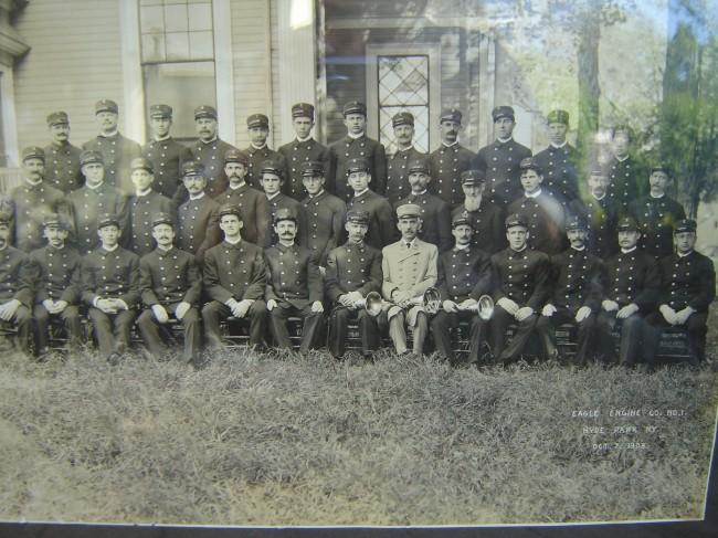 Eagle Engine Co No 1 Hyde Park Ny October 7th 1908